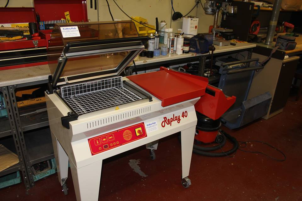minipack relay 40 shrink wrap machine